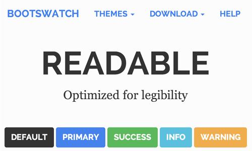รูปแบบ readable
